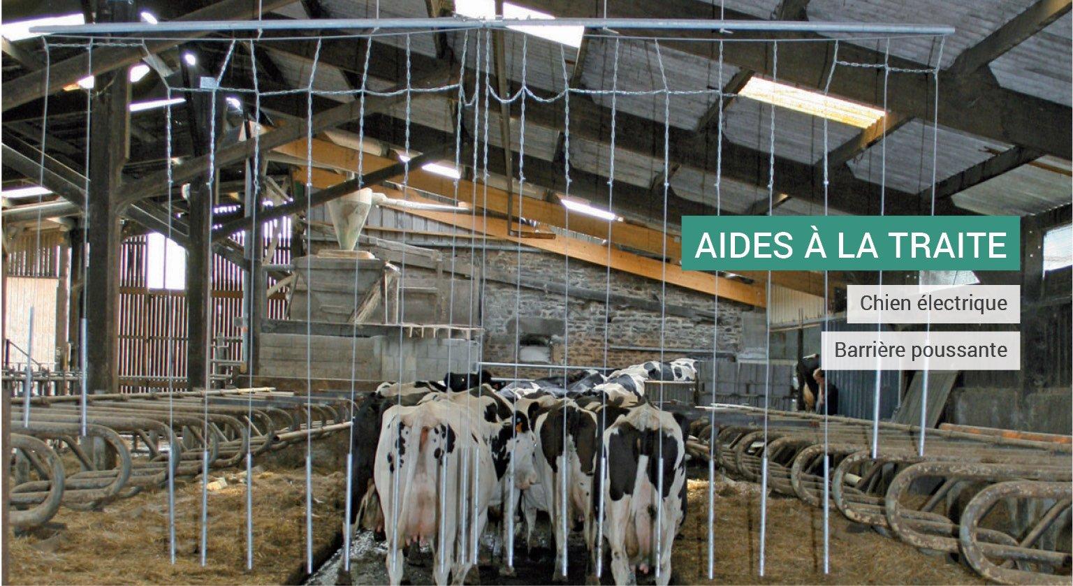Machines agricoles pour aide à la traite