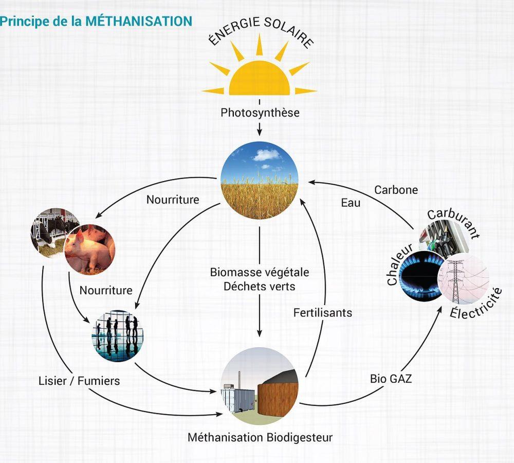 principe-methanisation